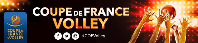Coupes de france seniors f d ration fran aise de volley - Coupe de france live score ...
