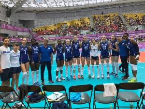 (Miniature) Universiades : Les Bleues chutent en quarts