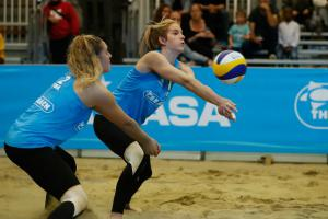 (Miniature) L'interview bleue – Alexia Richard : « M'investir à 200% dans le beach-volley »
