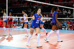 (Miniature) Fin d'EuroVolley pour Manon Moreels