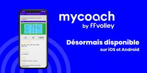 (Miniature) MYCOACH BY FFVOLLEY disponible sur mobile